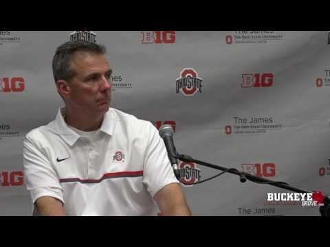 Meyer gives thoughts after tough Ohio State win vs. Northwestern