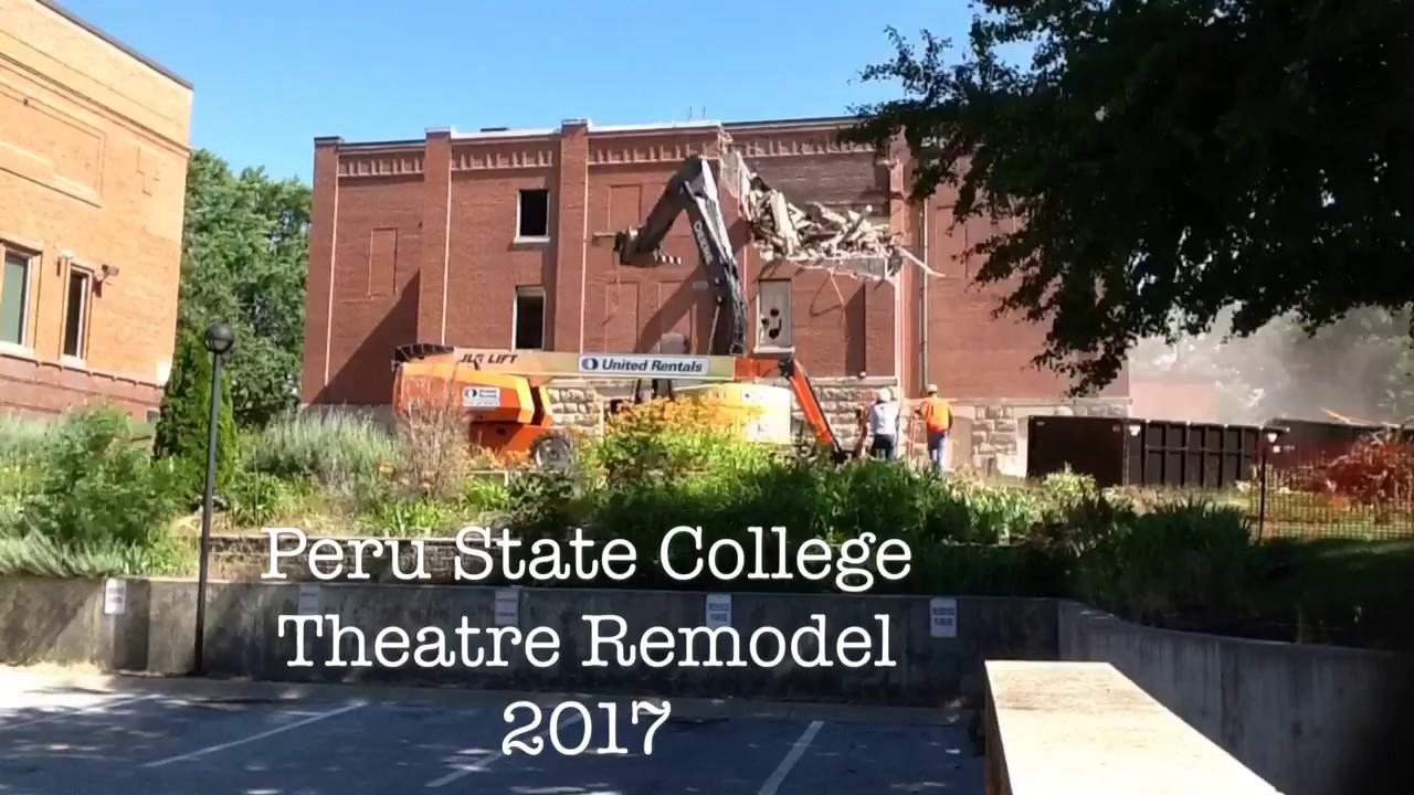 Peru State College >> Peru State Theatre Facility Services