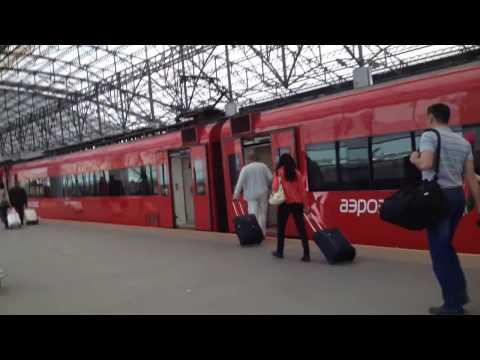 Как добраться от казанского вокзала до шереметьево