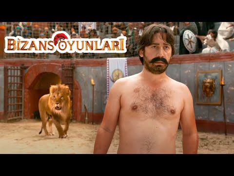 Bizans Oyunları - Vurkaçoğlu Aslana Lazer Tutuyor (Ünal Yeter)