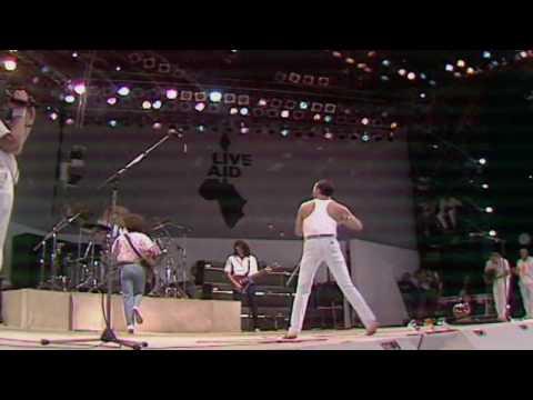 Queen Live Aid 1985 - Bohemian Rhapsody - Radio Ga Ga