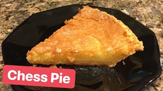 How to Make: Chess Pie