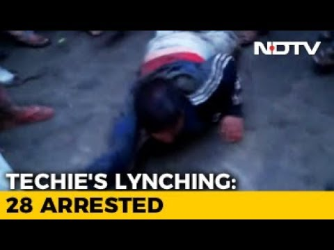 New Video Of Techie Killed In Karnataka Shows Him Being Dragged With Rope