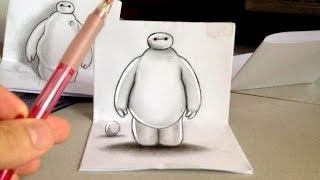 B-Max 3D Drawing - Technique for Illusion