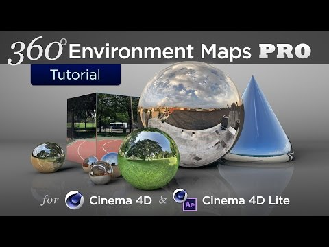360 Environment Maps Pro for Cinema 4D & Cinema 4D Lite - Product Walkthrough, Tutorial, & Examples