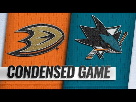 10/03/18 Condensed Game: Ducks @ Sharks