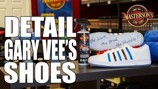 Gary Vaynerchuk Shoe Detail - Gary Vee 003 Clouds & Dirt - Masterson's Car Care