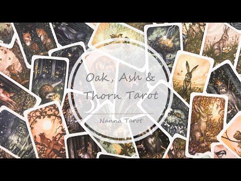 開箱  三橡木塔羅牌 • Oak, Ash & Thorn Tarot  // Nanna Tarot
