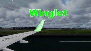 Winglet của cánh máy bay