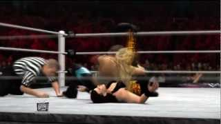 Machinima WWE Elimination chamber 2012 Beth Phoenix vs Tamina Snuka Result
