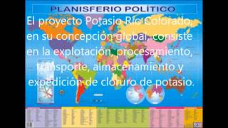 cloruro de potasio Rio Colorado