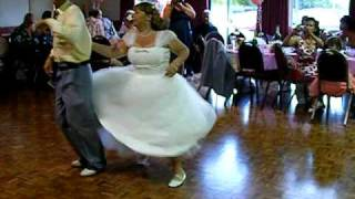 rose tony bowers wedding 1st dance 50s rock roll jive mr dickie bows essex