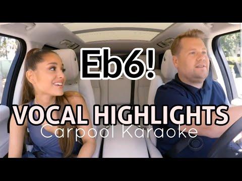 Ariana Grande 'VOCAL HIGHLIGHTS' - Carpool Karaoke