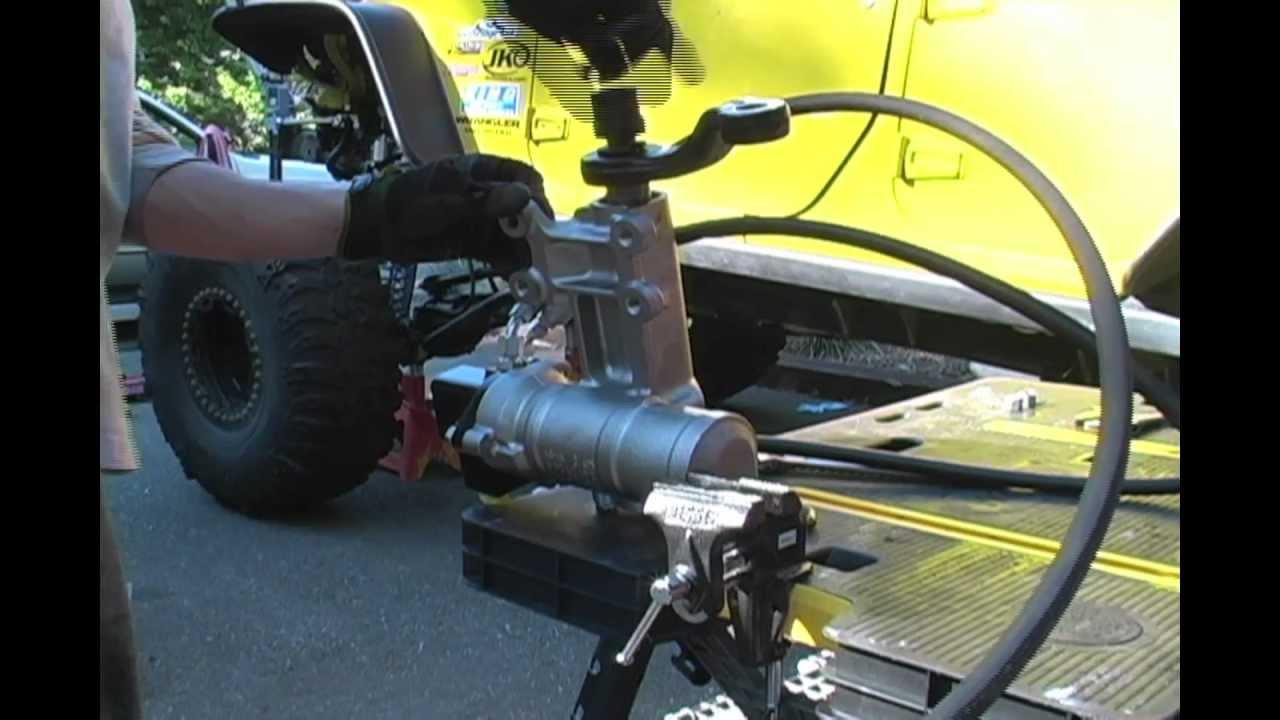 Power Steering Fluid PSC Hydro Assist Install Part II - YouTube