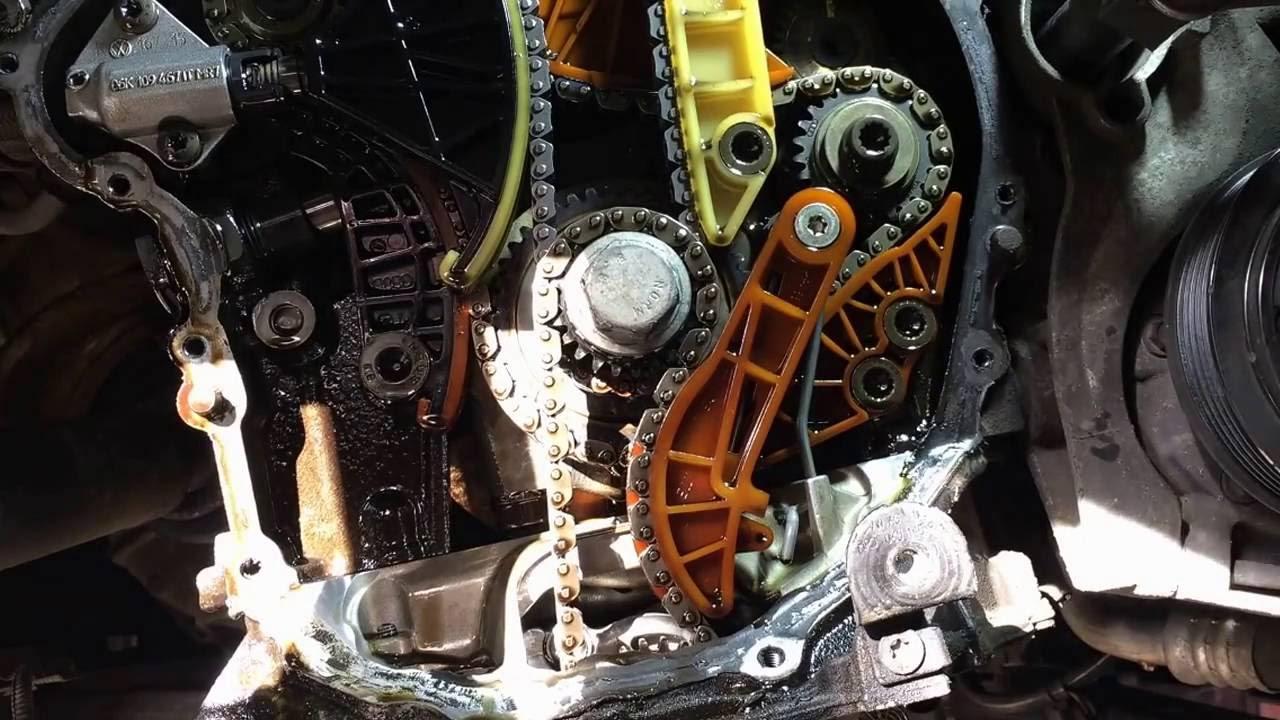 Переборка двигателя 1.8 TSI CDAB CDAA CDA BZB. Устранение МАСЛОЖОРА НА 100%