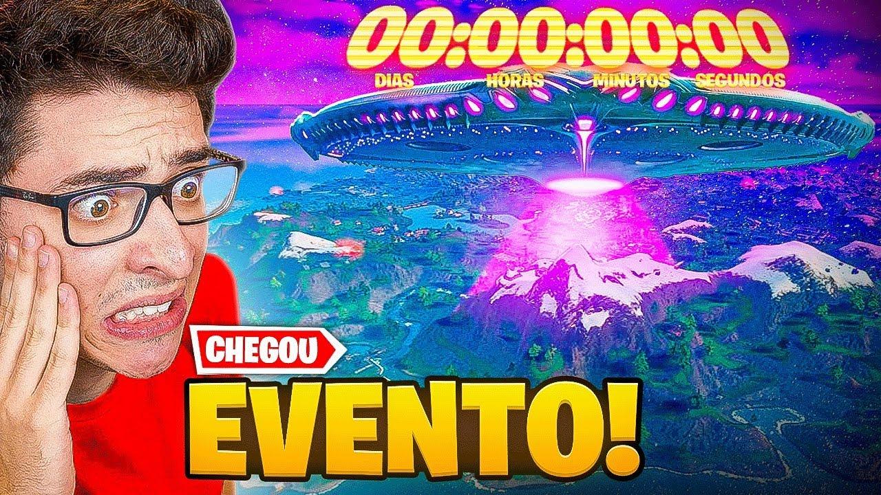 FINALMENTE EVENTO AO VIVO NO FORTNITE!!!