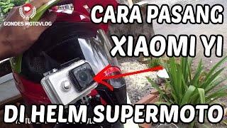 Cara Pasang Action Camera di Helm Snail MX 311 Supermoto