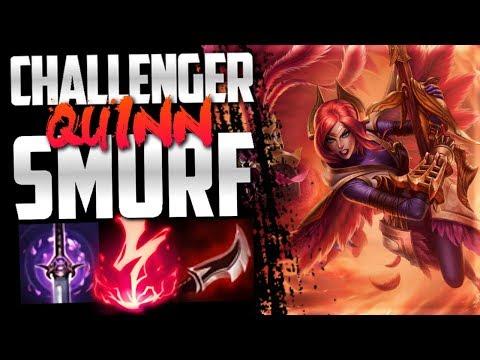 Quinn mid lane smurfing in NA Challenger!