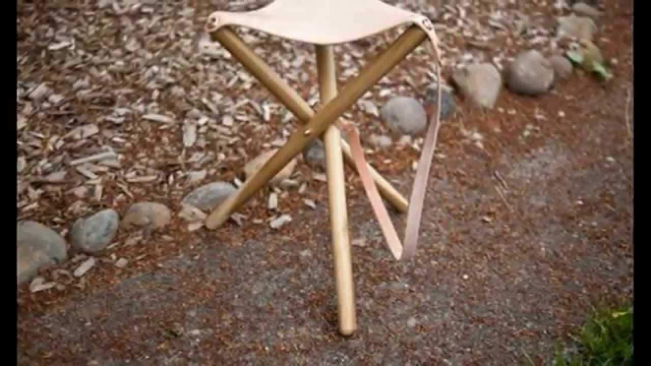 Раскладной стул своими руками для рыбалки Youtube