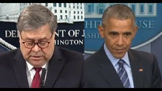 We Know It All -5/17/2019 BARR LOWERS THE BOOM ON OBAMA ADMINISTRATION