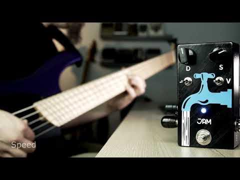 JAM Pedals - Waterfall Bass Demo