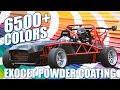 Exocet Powder Coating Color Options
