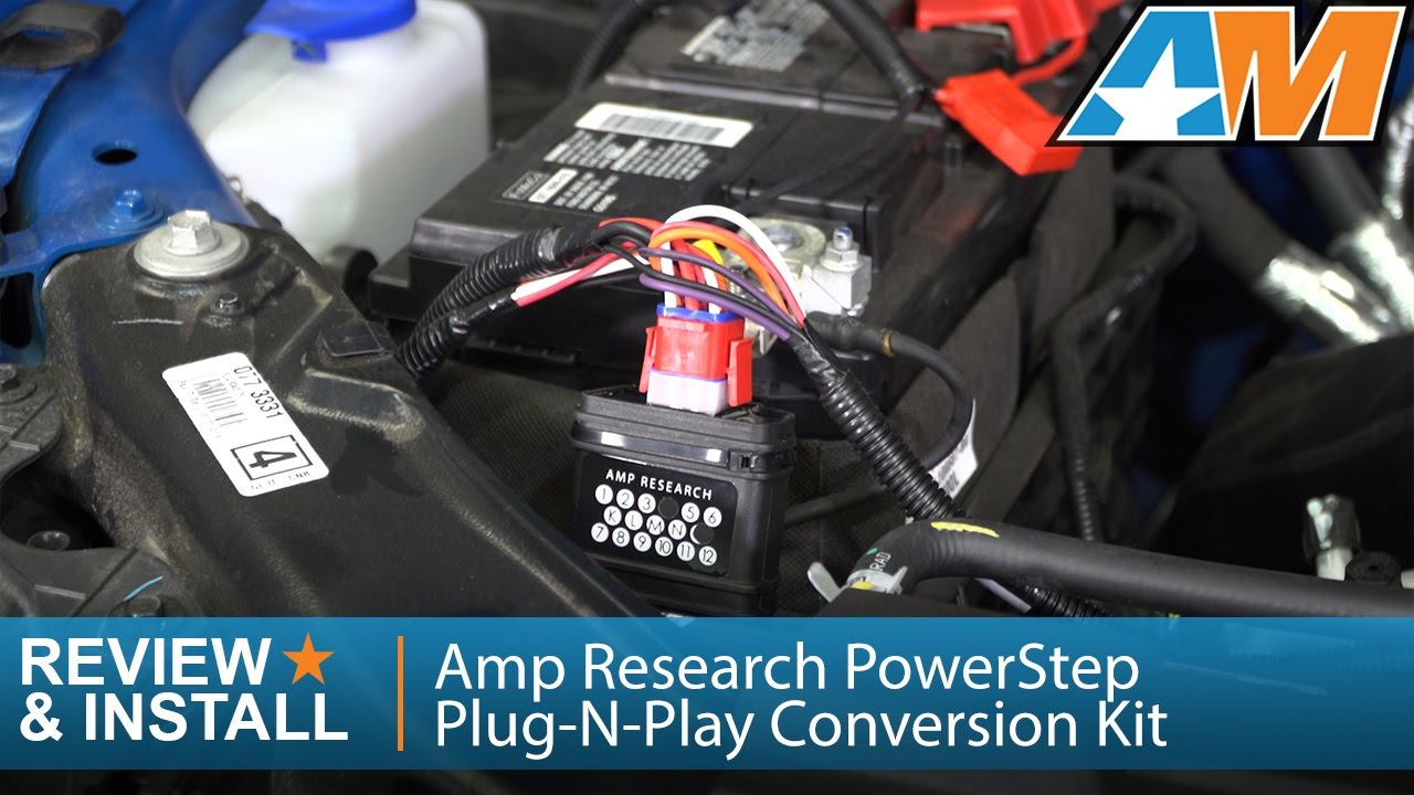 Amp Research Wiring Harness 2009 2014 F 150 Amp Research Powerstep Plug N Play
