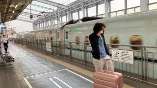 岡山駅 新幹線