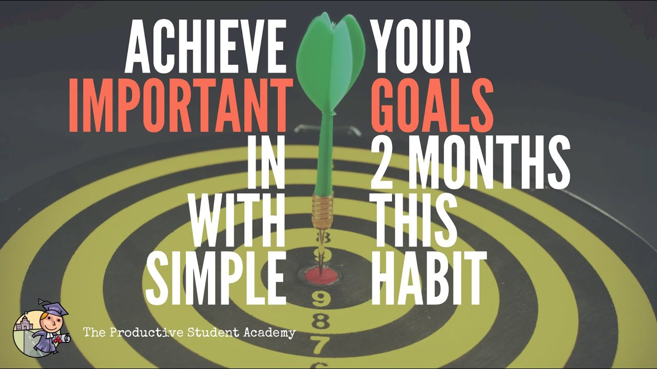 Achieve Your Important Goals in 2 Months with This Simple Habit Strategy.