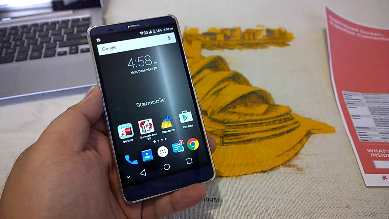 Starmobile Up Ultra Unboxing - Premium Phablet With Smart Super Pack ...