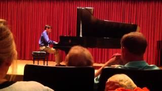 Scherzo in E Minor, op 16 no 2, Mendelssohn