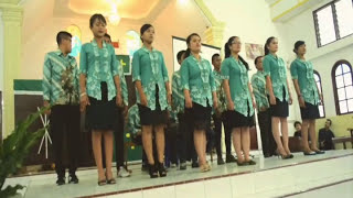 S production-vocal group medley P.GKPS Immanuel saribudolok at Expo 2016