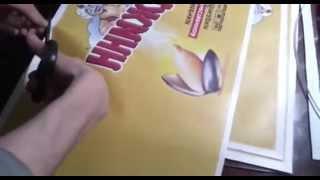 видео ИЗГОТОВЛЕНИЕ НАСТОЛЬНЫХ ФЛАЖКОВ