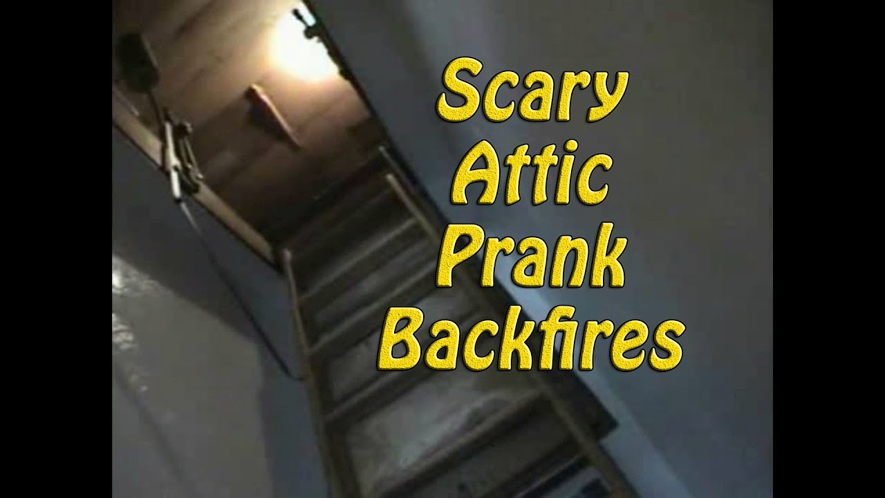 Scary Attic Prank on Brother Backfires