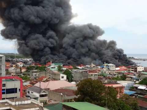 Large Fire at Pagadian City