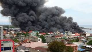 Large Fire at Pagadian City