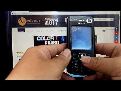 Điện thoại cổ vang bóng một thời Nokia N70 music và cách hướng dẫn sử dụng dễ dàng