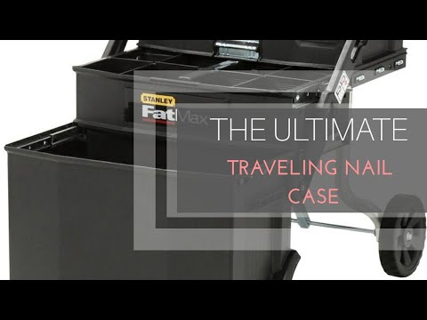 The ULTIMATE traveling nail case | Mobile Manicurist | Stanley ...