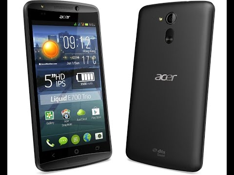 Acer Liquid E700 Hard Reset and Forgot Password Recovery, Factory Reset
