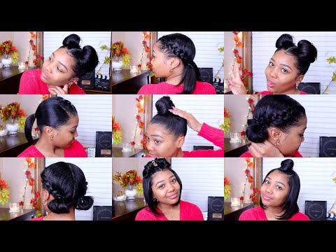 10 QUICK & EASY HAIRSTYLES | Shoulder Length Hair!