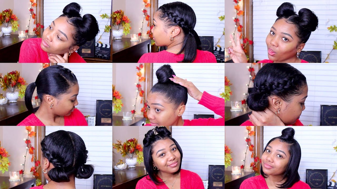 quick & easy hairstyles shoulder
