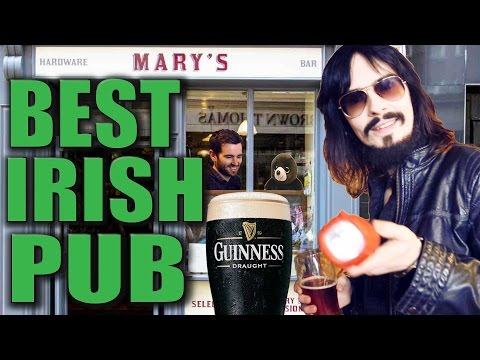 Greatest New Irish Pub Ever!! - 'Mary's Bar & Hardware'