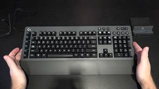 Logitech G613 Wireless Mechanical Gaming Keyboard Unboxing