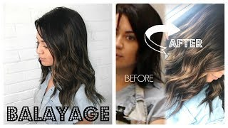 CREATE A BALAYAGE USING ONLY HAIR EXTENSIONS (on short hair)