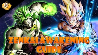 Fastest Zenkai Boost Awakening Guide Dragon Ball Legends DB DBL DBZ