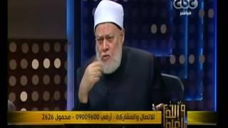 على جمعة: يجوز قراءة القرآن بدون تحريك اللسان