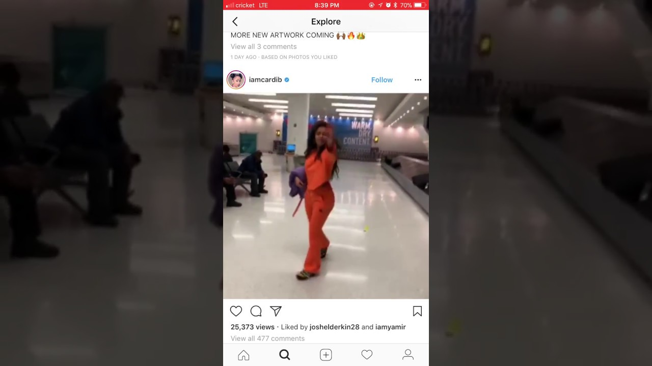 This Cardi B Fan Got A Tattoo Dedicated To The Bodak: Cardi B Being Rude To Fan At Airport!