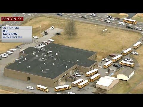 Kentucky school shooting: 1 dead at Marshall County High School