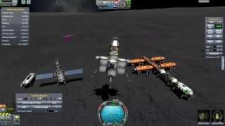 Kerbal Space Program - Reusable Space Program 24 - More Munbase Management