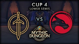 Golden Guardians vs Echo | Lower Semis | MDI Shadowlands Cup 4